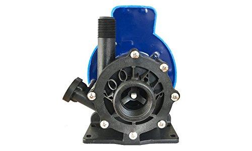 "Air Seawater Conditioning - KoolAir Pumps SPM1000-230, Submersible, 230 Volts, Marine Air Conditioning Seawater 870 GPH Magnetic Drive Pump, 56"" Cord, Inlet 1"" FPT x Outlet 1/2"" MPT, Intertek ETL-Certified"