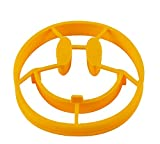 1 pcs Egg Fried Mold Pancake Maker Smile Shaped Pancakes Smiley Face Silicone Egg Mold Omelet Eggs Kitchen Device DIY Tool