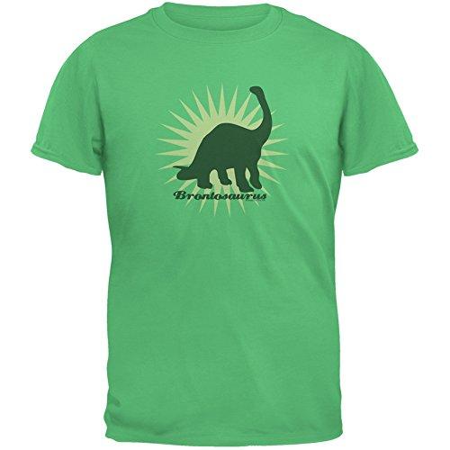 Sunburst Brontosaurus Irish Green Youth T-Shirt - X-Large(18) (Irish Lions Home Shirt)