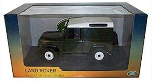 Defender 90 Land Rover (Universal Hobbies 1:18 Land Rover 90 TDi Hard Top - Bronze Green)