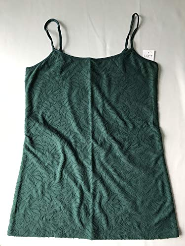 (Ann Taylor Loft Outlet Women's Jacquard Camisole (Small, Green))