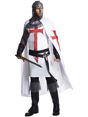 Rubie's Men's Grand Heritage White Knight Costume, Multi,