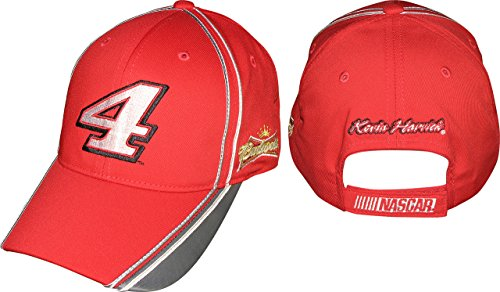 Kevin-Harvick-Budweiser-Checkered-Flag-Sports-2015-Carbonite-Nascar-Cap-Hat