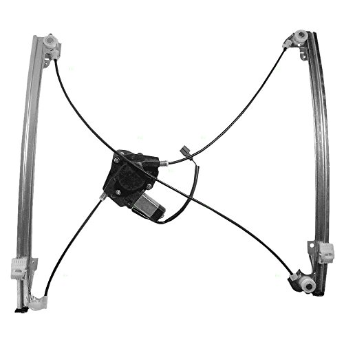 (Power Window Lift Regulator with Motor Assembly Driver Front Replacement for Dodge Caravan Chrysler Town & Country Plymouth Voyager Van 68037297AA)