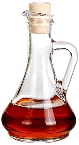 Pasabahce Olivia Oil Or Vinegar Bottle With Cork Set Set Of 2
