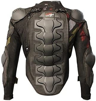 XXL Motorcycle Armor Full Body Armor Jacket Racing Amour Neck Guard Protective Gear Chest Protection Clothing