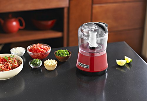 Buy KitchenAid 5KFC3511DER 3.5 Cup Chopper With Chop U0026 Puree (Empire Red)  Online At Low Prices In India   Amazon.in