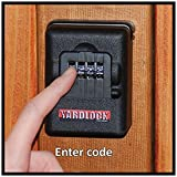 Yardlock Keyless Wood Gate Combination Lock Kit
