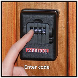 Keyless Padlocks (Yardlock Keyless Wood Gate Combination Lock)
