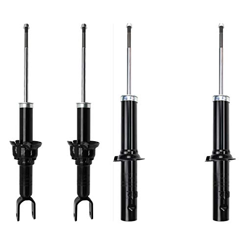 MGPRO New Set of 4 Front + Rear Right+Left Suspension Strut Shock Absorbers Kit For 1997-2000 Acura EL / 1996-2000 Honda Civic ()