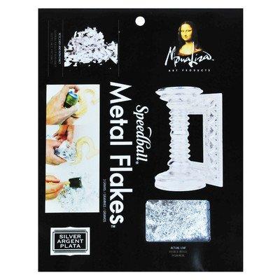 Mona Lisa ML10010 3 Grams Metal Flakes - Silver
