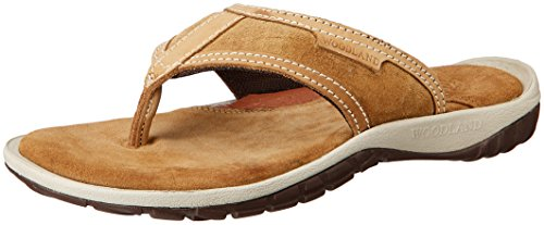 a58f0feb083 Woodland Men s Camel Leather Hawaii Thong Sandals - 6 UK India (40 EU)(GP  1392114)  Buy Online at Low Prices in India - Amazon.in