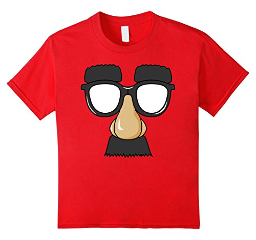 Kids Funny Comedian Guy Glasses Mustache Shirt Standup Tee 8 - Glasses Guys Hipster