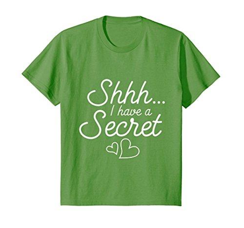 Kids Shhh I've Got a Secret I'm Going to be a Big Cousin T shirt 4 Grass