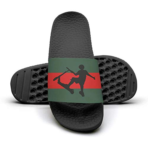 Mules Woman and Stunt icon Scooter Sandals Scooter green Slippers Summer Stunt Slides red 1 Icon stripe rwSprv