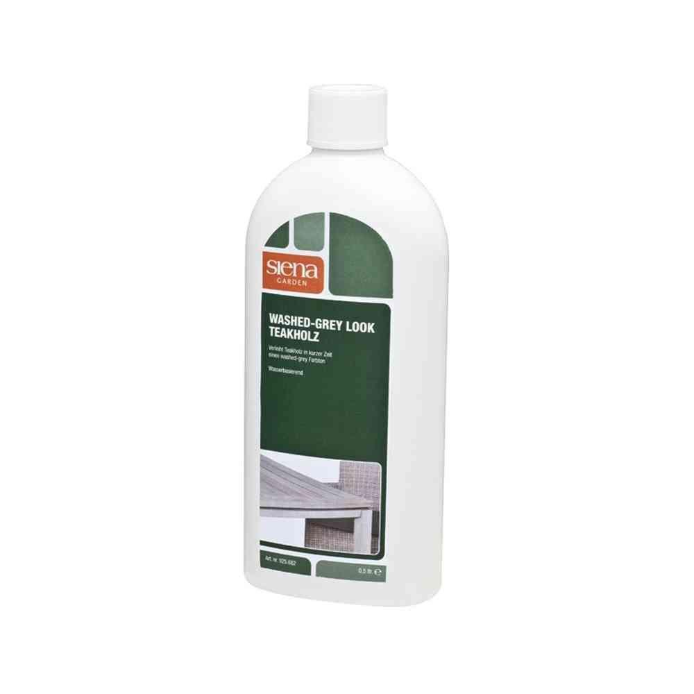 Siena Cura Cleanser 925 682 Mobili da giardino Aspetto Lavato Grigio e Teak Wood 500 ml Siena Garden 925682