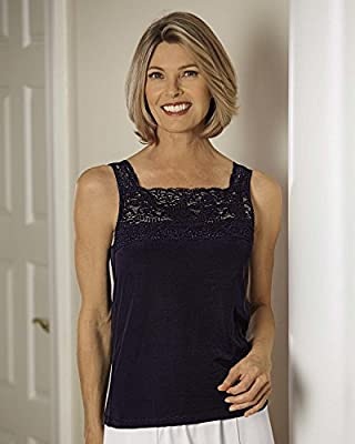 Cuddl Duds Peek-A-Boo Camisole - Misses, Womens