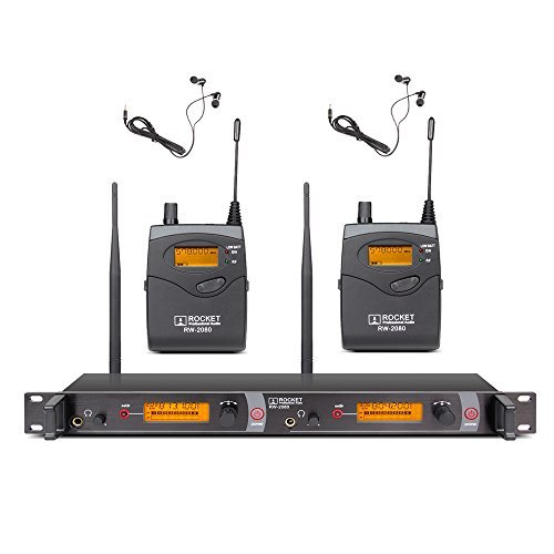Wireless In Ear Monitor - Xtuga RW2080 Rocket Audio In Ear Monitor System