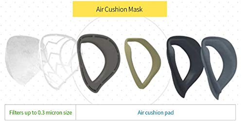 CYBOWING Child Anti Pollution Mask Dust Pollen Allergies 7~13 years old (C/Blue)