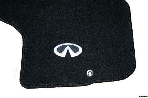 Infiniti 2006 to 2010 M35/M45 Carpet Floor Mats - Factory OEM Replacement -Black