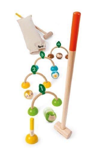 Plan Toys Croquet Game by Plan Toys [並行輸入品] B013XR48OU