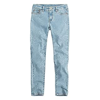 Levi's Girls' Big 710 Super Skinny Fit Jeans, Shattered Light, 8 (B079DK3ZX3) | Amazon price tracker / tracking, Amazon price history charts, Amazon price watches, Amazon price drop alerts