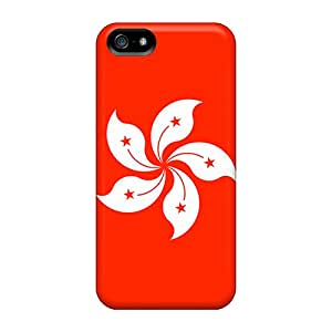 GgN34284tcXB Cases Covers, Fashionable Iphone 5/5s Cases - Hong Kong Flag