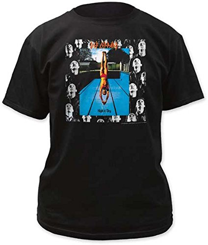 NEW /& OFFICIAL! Def Leppard /'High /'n/' Dry/' T-Shirt