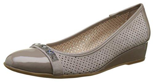 Maggie Stonefly Ii 7 Taupe Grey Flats Women's Ballet 423 AqKp5wP