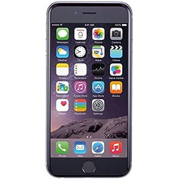 Apple iPhone 6 16 GB Unlocked, Space Gray (Certified Refurbished)