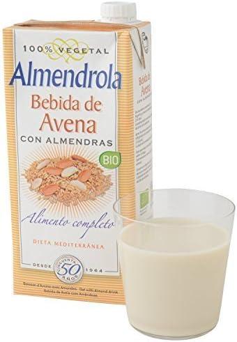 IJSALUT - Leche Avena Almendras Bio 1L Viar 1 Lt: Amazon.es: Salud y cuidado personal