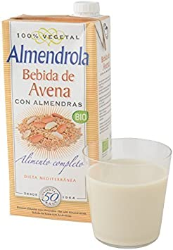 IJSALUT - Leche Avena Almendras Bio 1L Viar 1 Lt: Amazon.es: Salud ...