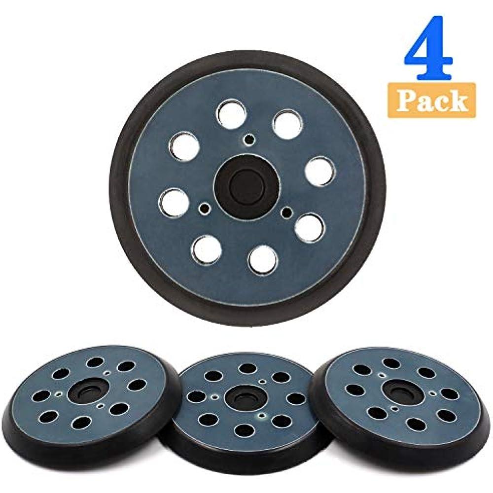 For Makita BO5041 Orbit Sander Part 8Holes Backing Disc Sanding Pads Hooks Loop