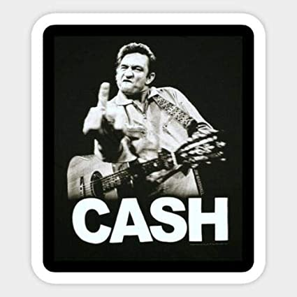 What Would Johnny Cash Do Custom Vinyl Decal Sticker For Etsy