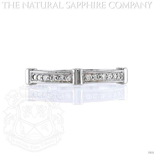 Custom Diamond Bezel (2.50mm Pave Diamond Ring in Palladium with Bezel Set Diamond Accents 0.33cts Total Weight (J3820))