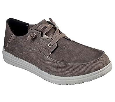 Skechers Mens Melson - Volgo Brown Sneaker - 8 W