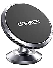 UGREEN Car Phone Holder Magnetic Dashboard Mobile Mount Dash Stand Compatible for iPhone 12 11 Pro Max SE XR XS X 8 7 6 Plus 6S, Samsung Galaxy Note20 S20 Ultra S10 S9 S8, Note 10 9 8, Google Pixel 4 XL