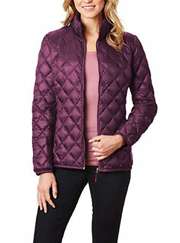 Ladies' Packable Ultra Light Down Jacket, Purple