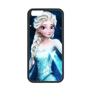 iphone6 4.7 inch Black phone case Disney Princess Frozen Elsa DPC8428564