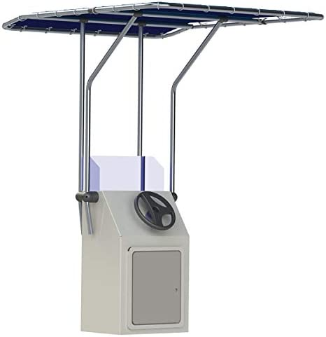 Light-Weight Retractable T-Top for Center Console Boat or Bay Boat [Oceansouth] Picture