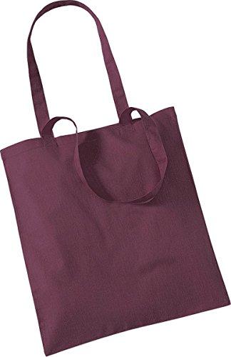 Burgundy Westford Bag Handbag One Shopper Shoulder Storage Size Holdall Mill Tote Promo wqPHwSp