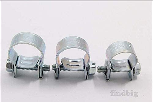 NEW 30PCS 1//4FUEL INJECTION HOSE CLAMP//AUTO Fuel clamps