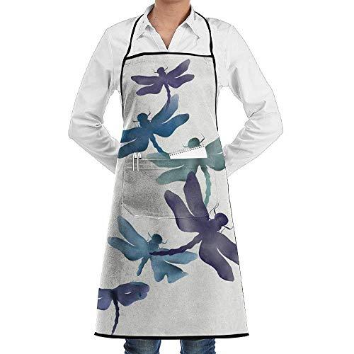 Ashley Lauren Mia Dragonfly Professional Kitchen Aprons£¬Custom Bib,Wear and fall in love