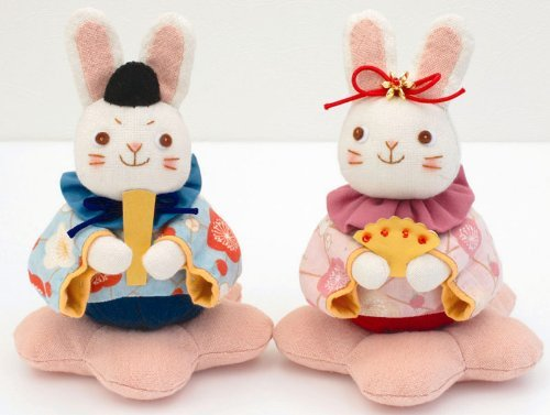 Patchwork kit (Hina rabbit) by Olempus made cord