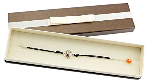 Art Dog Ltd. Shar Pei, Bracelet with Box for People who Love Dogs, Photo Jewelry, -