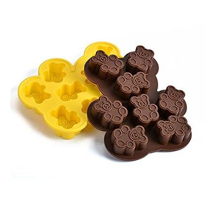 valoxin (TM) DIY en forma de oso moldes de cocción de chocolate hecho a