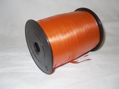 1 roll 5mm x 500m Curling Balloon Ribbon - ORANGE for Gift Wrapping, Party Favors, Decoration, Florist, Floral & Craft work Partyrama 618718OAK-Rbbn-B