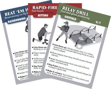 Baseball Baserunning Drills (COACHDECK BASEBALL DRILL CARDS)