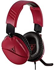 Turtle Beach Recon 70N Gaming Headset for Nintendo Switch, PS4, Xbox One & PC (Midnight Red)
