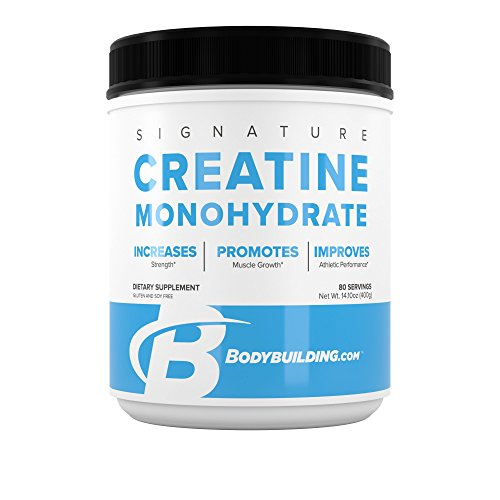 BodyBulding.Com Signature Micronized Creatine Monohydrate Powder | Muscle Builder | Promote Performance Recovery | 400 Grams, 80 Servings (Pump Fuel Creatine)